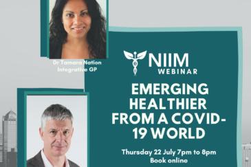 NIIM Webinar: Emerging Healthier from a COVID-19 world