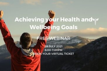FREE Webinar   Achieving your Health and Wellbeing Goals